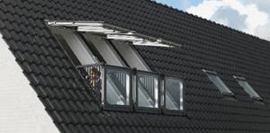 tømrerarbeid - montering av Velux vindu